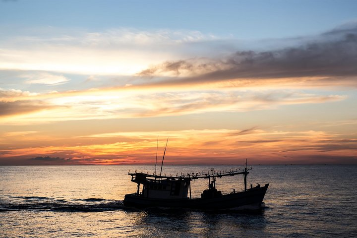 Phu Quoc Island Sunset And Seafood BBQ Night On Boat, Phu Quoc, VIETNAM