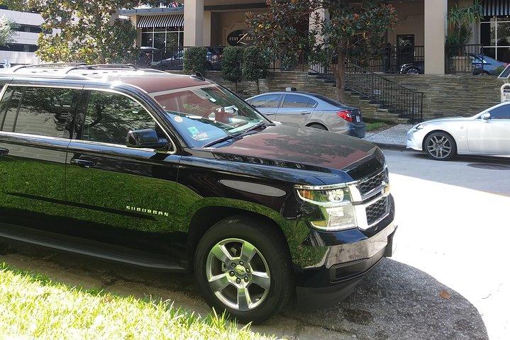 Book Professional Black SUV Car Service Houston,IAH Airport to Houston Downtown, Houston, TX, ESTADOS UNIDOS