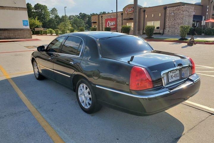 Black Sedan Car from Houston to Galveston, IAH Airport,Houston to Galveston,, Houston, TX, ESTADOS UNIDOS