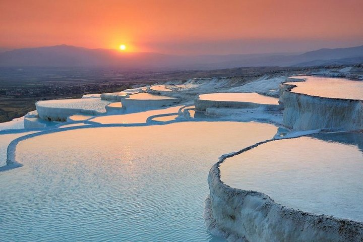 Pamukkale & Lake Salda from Side Hotels, Side, TURQUIA