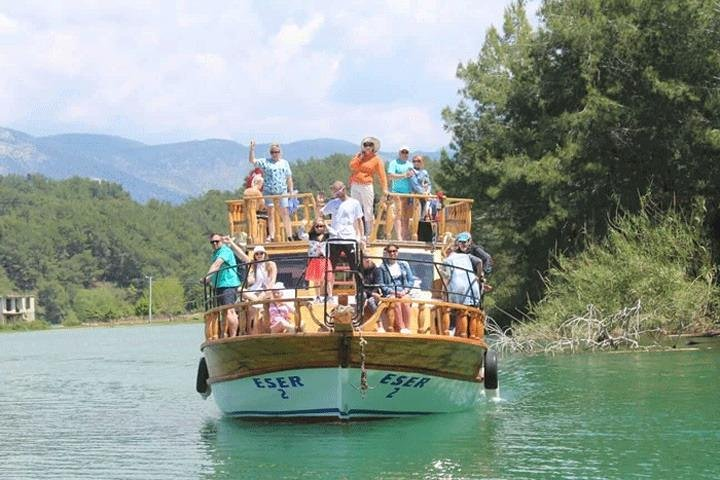 Mix. Tour (Jeep Safari and Boat Tour in Green Lake), Side, TURQUIA