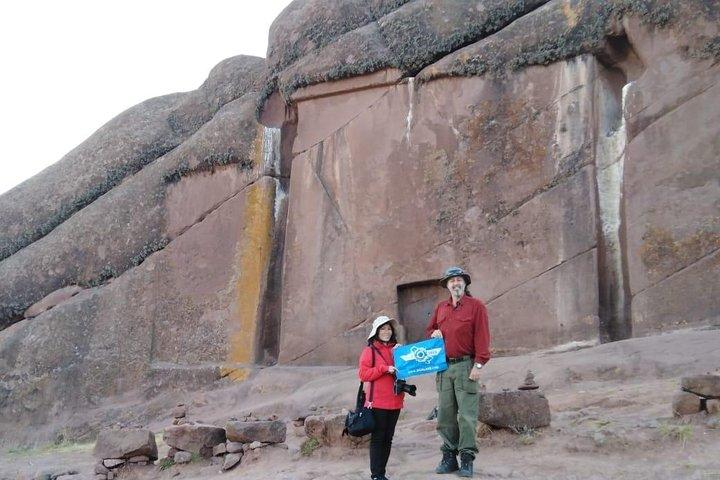 Portal privado de Aramu Muru, Chucuito e Inca Uyo de Puno, Puno, PERU