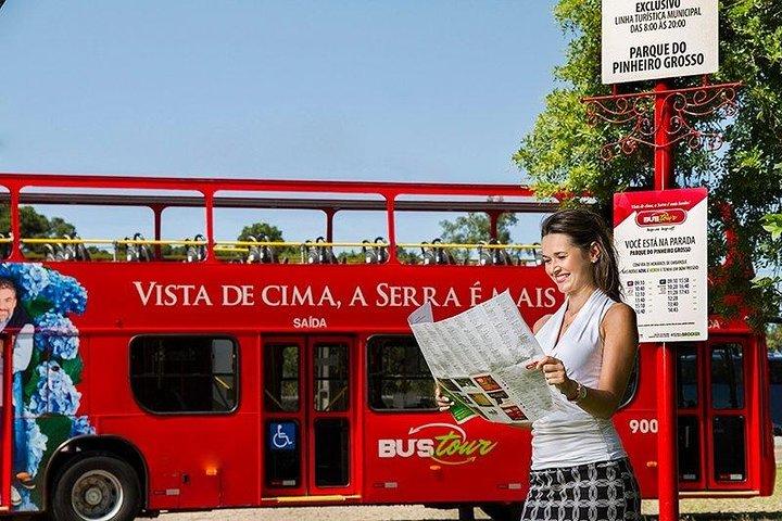 BUSTOUR: Ingresso Oficial - Hop-On Hop-Off City Tour por Gramado e Canela, Gramado, BRASIL