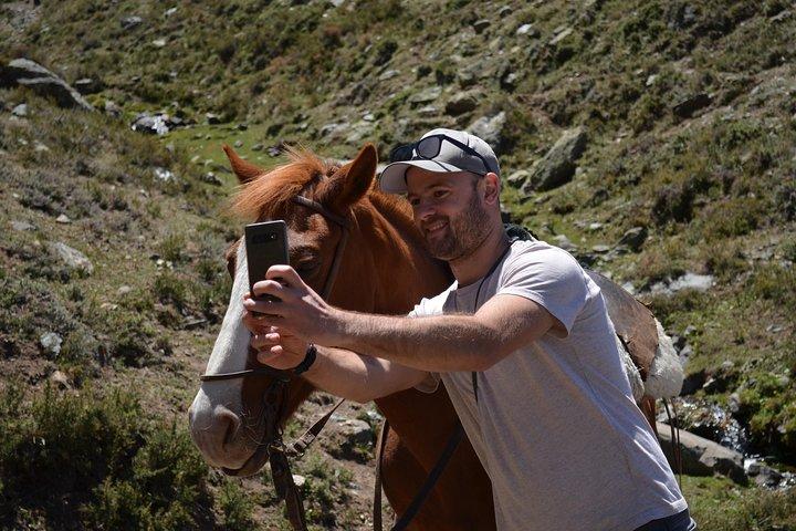 Andes Horseback Riding, local experience & BBQ, Mendoza, ARGENTINA