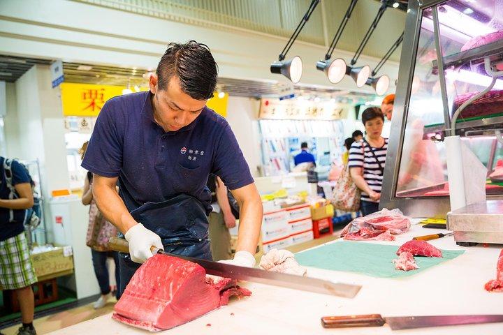 Toyosu new market and Tsukiji market Food Tour, Tokyo, JAPON