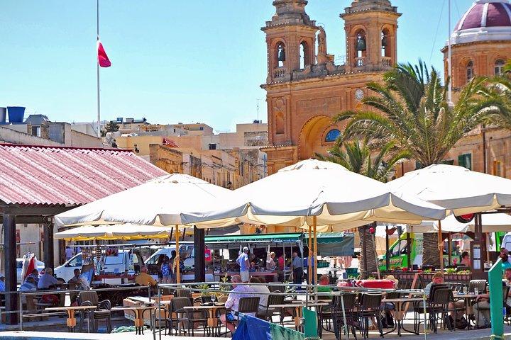 Blue Grotto and Marsaxlokk Half-Day Tour from Valletta, ,