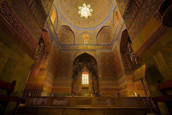 Gur Emir - Entrance ticket, Samarcanda, UZBEKISTAN