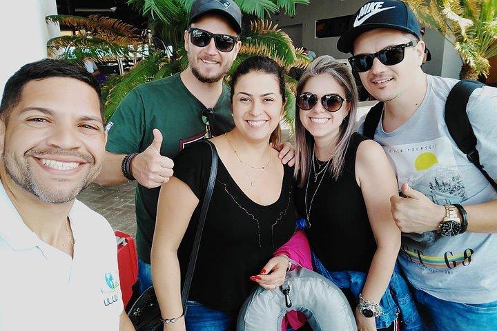Traslado de salida desde Praia Carneiros al Aeropuerto de Recife, Porto de Galinhas, BRASIL