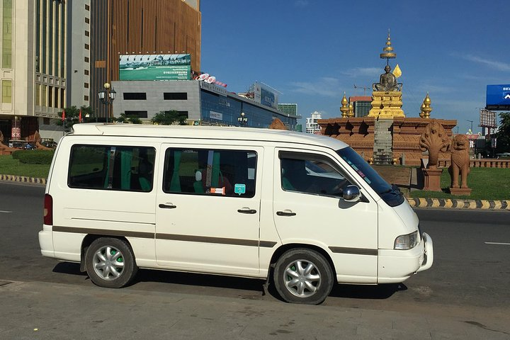Private Taxi From Kratie to Phnom Penh Overland Transfer, Kratie, Cambodia