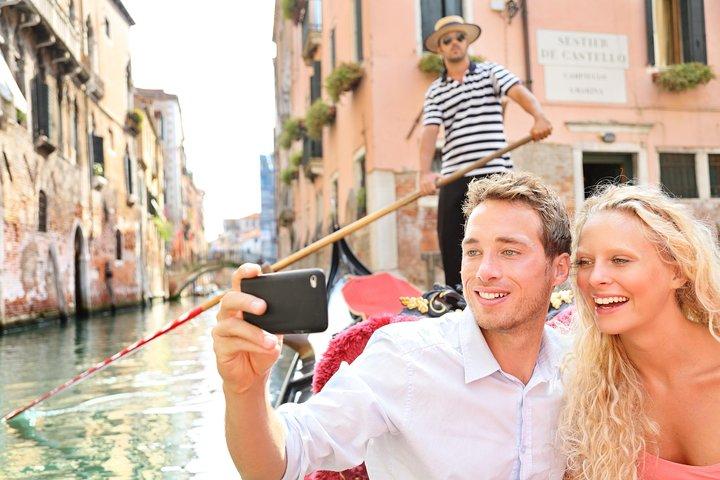 Apaixone-se em Veneza: Gôndola romântica e sabores venezianos típicos, Veneza, Itália