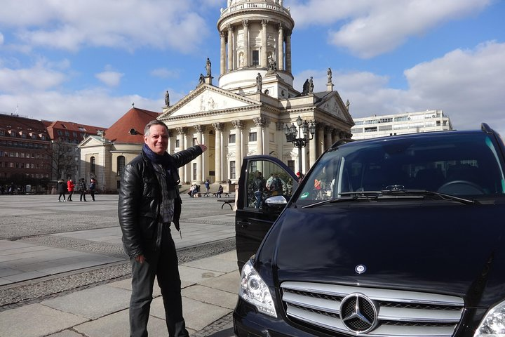 Group Driving Tour 1 to 6 people. Berlin Shore Excursion incl pick-up at Port, Berlin, GERMANY