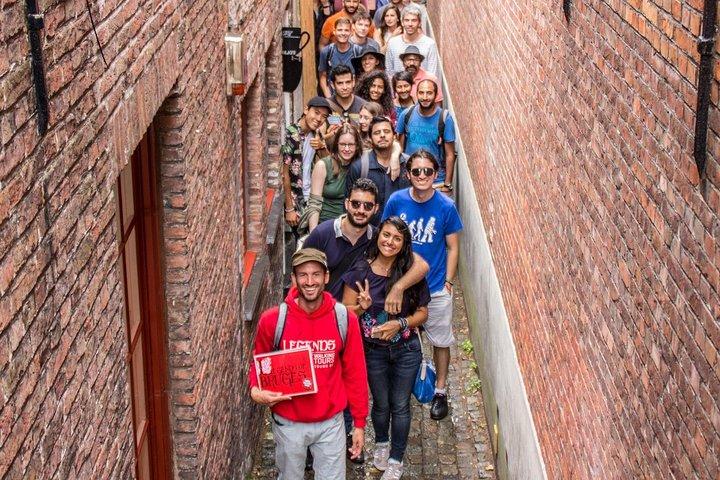 Historical Walking Tour: Legends of Bruges, Brujas, BELGICA