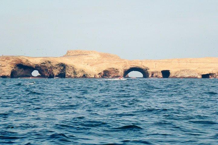 Islas Ballestas y Tambo Colorado desde el puerto San Martín -Pisco, Paracas, PERU