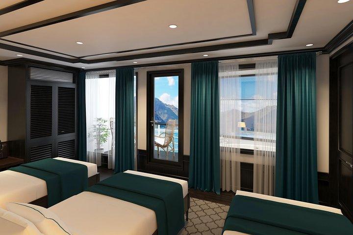 Aspira Cruises 5 star: Amazing 3 days exploring Halong & Cat Ba island, Halong Bay, VIETNAME