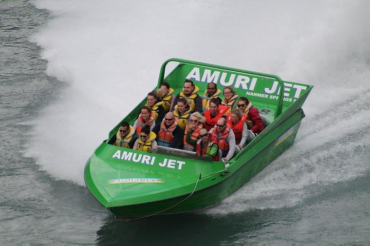 Amuri Adventure Jet Boating in Hanmer Springs, Hanmer Springs, NUEVA ZELANDIA