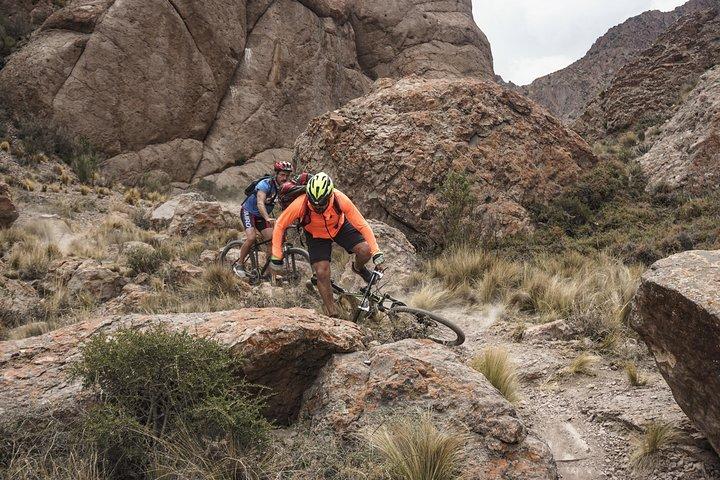Full Day Mountain Bike en los Andes, Mendoza, ARGENTINA
