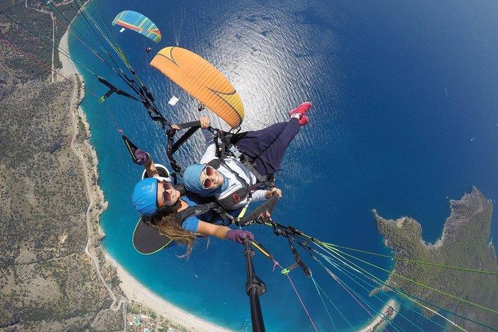 Tandem Paragliding in Ölüdeniz, Fethiye, Turkey, Fethiye, TURQUIA