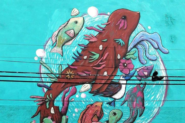 Street Art Walk in La Paz, La Paz, MÉXICO