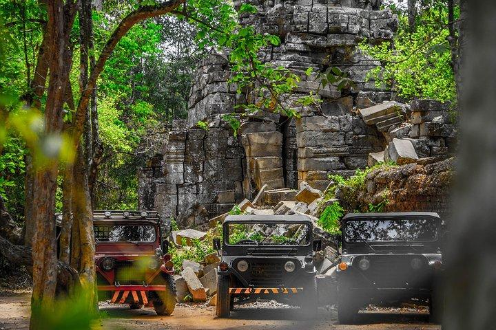 Vintage Jeep Tour: Angkor Wat Sunrise Explorer, Siem Reap, CAMBOYA