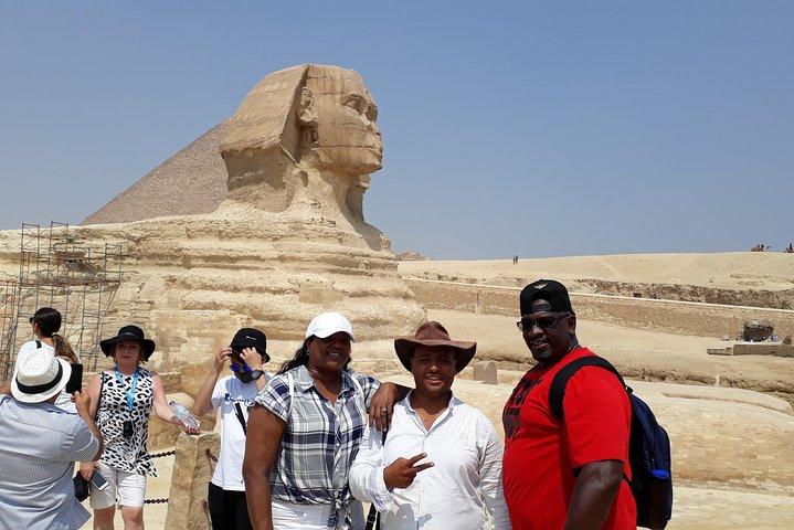 Private guided tour to Giza Pyramids, Sphinx, Saqqara and Memphis city, Guiza, EGIPTO