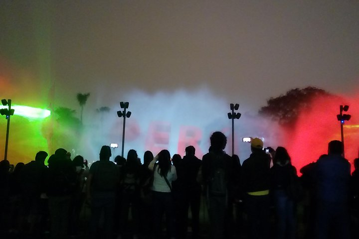 Magic Water Show and Dinner Show, Lima, PERU