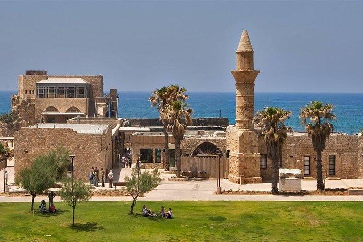 Caeserea, Haifa, Rosh Hanikra, and Acre Day Trip from Jerusalem - Small Group, Herzliya, ISRAEL