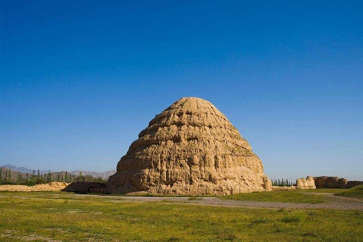 A peek of Ancient North Western Part of China during Mongol Conquest, Yinchuan, CHINA