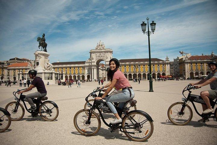 Lisbon Hills Electric Bike Guided Tour, Lisbon, PORTUGAL
