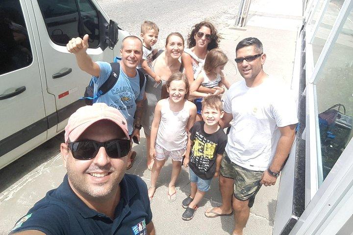 Traslado Compartilhado Arraial do Cabo a Rio de Janeiro, Arraial do Cabo, BRASIL