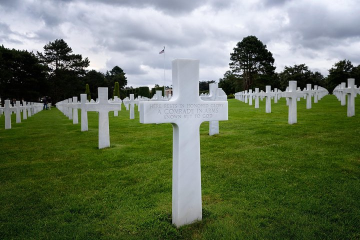 American Landing Beaches Discovery from Le Havre/Rouen, Ruan, FRANCIA