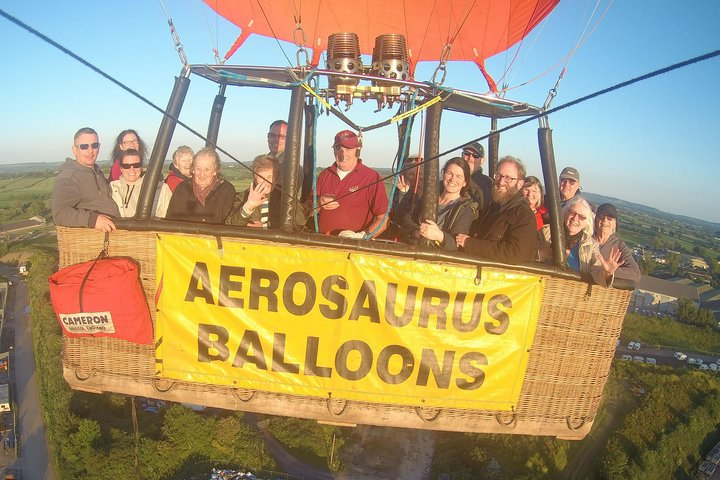 Hot Air Balloon Flight from Templecombe, Dorset, Poole, ENGLAND