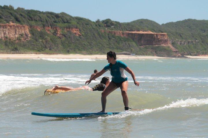 Surf classes, Natal, BRASIL