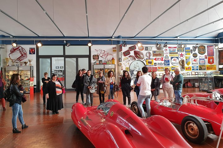 Guided tour to Stanguellini classic cars museum in Modena, Modena, Itália