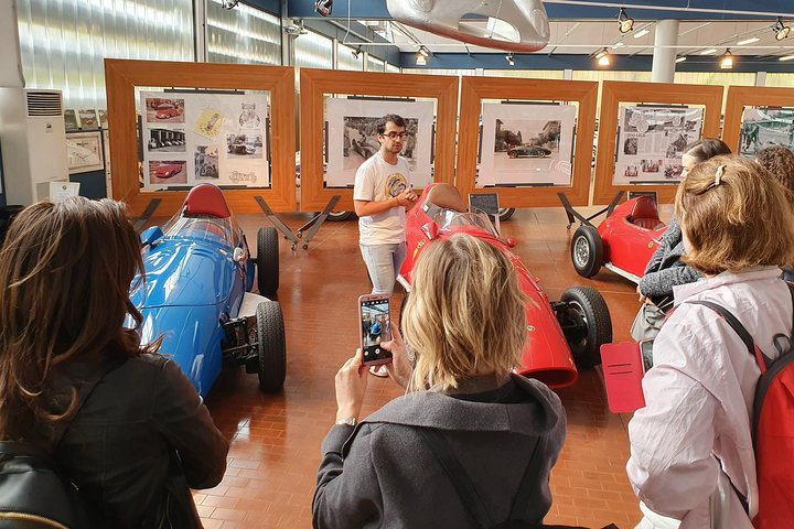 Guided tour to Stanguellini classic cars museum in Modena, Modena, ITALIA