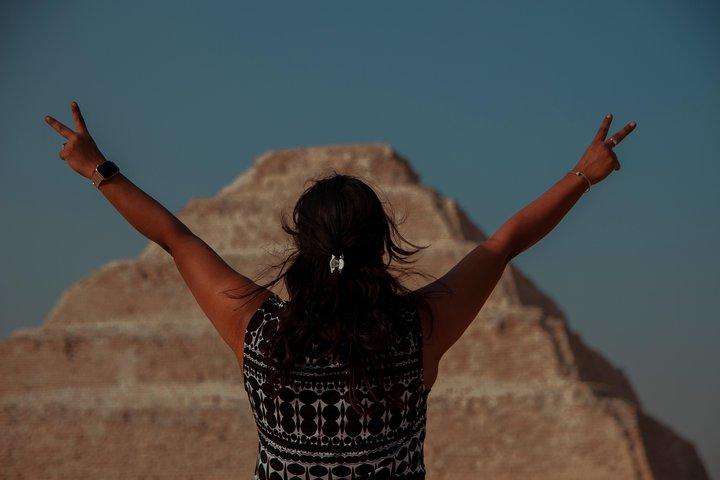 Excursión de medio día desde El Cairo: Pirámides de Dahshur, Saqqara y ciudad de Menfis, El Cairo, EGIPTO