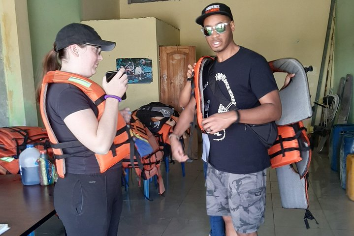 Hiking on the Bird's Island and Dolphin Watching in Puerto El Morro, Guayaquil, ECUADOR