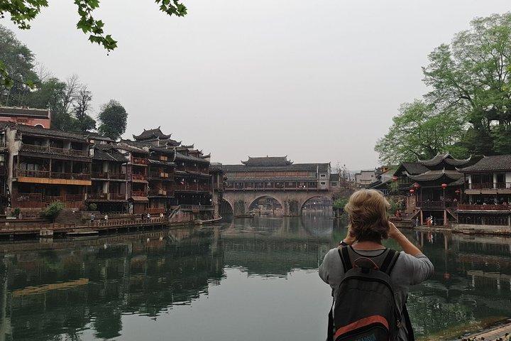 Zhangjiajie hotel to Longsheng(Longji) hotel and stops at Fenghuang old town, Zhangjiajie, CHINA