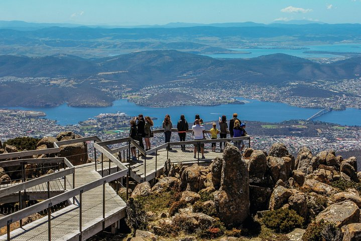 Mt. Wellington, Huon Valley and Tahune Airwalk Day Trip with Bonorong Option, Hobart, AUSTRALIA