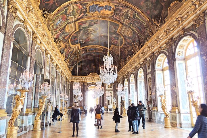 Versailles Best of Domain Skip-the-Line Access Day Tour with Lunch from Paris, Paris, FRANCE