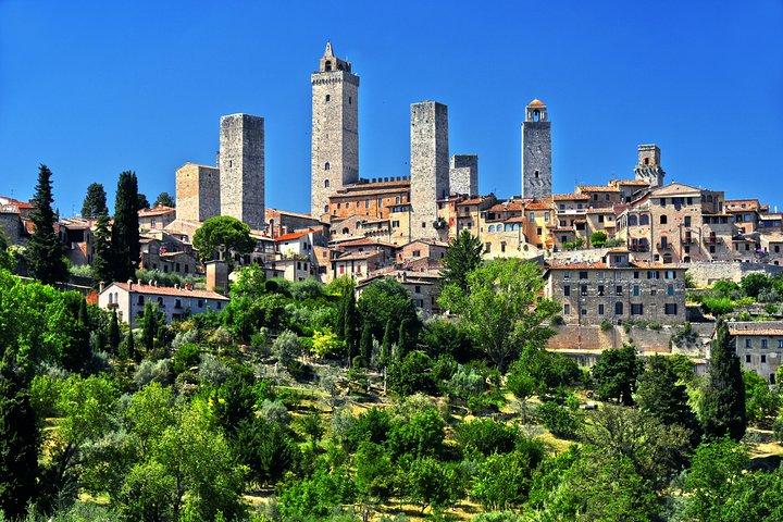 Livorno Shore Excursions: Siena - San Gimignano - Monteriggioni Private Tour, San Gimignano, Itália