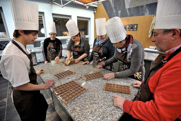 Chocolate Workshop at Choco-Story Brugge, Brujas, BELGICA