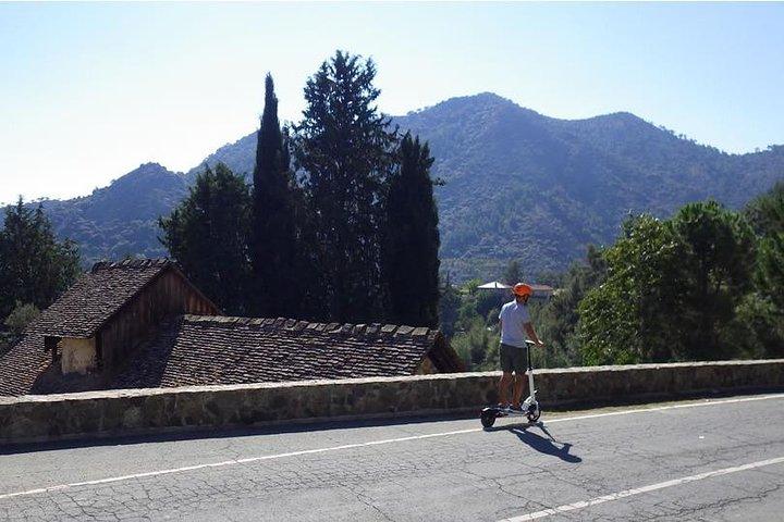 Escooter & walk exploration combo - Pitsilia - Troodos - from Larnaca, Larnaca, CHIPRE