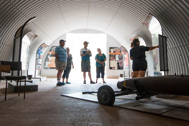 Private WW2 Bombing of Darwin Tour, Darwin, AUSTRALIA