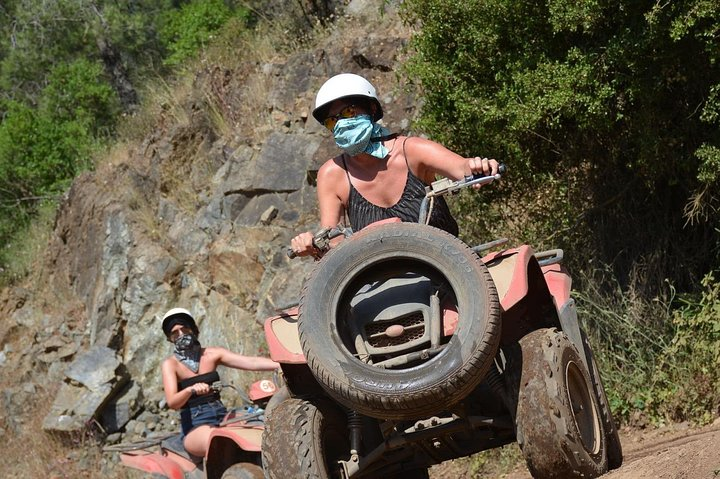 Quad Bike Safari from Side Area Hotels, Side, TURQUIA
