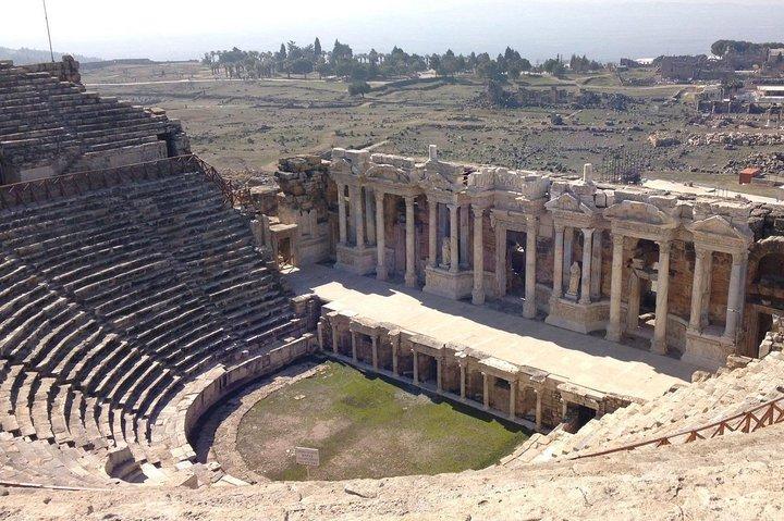 Visiting the Ancient City Hierapolis, Pamukkale and Cleopatra Pool from Marmaris, Marmaris, Turkey