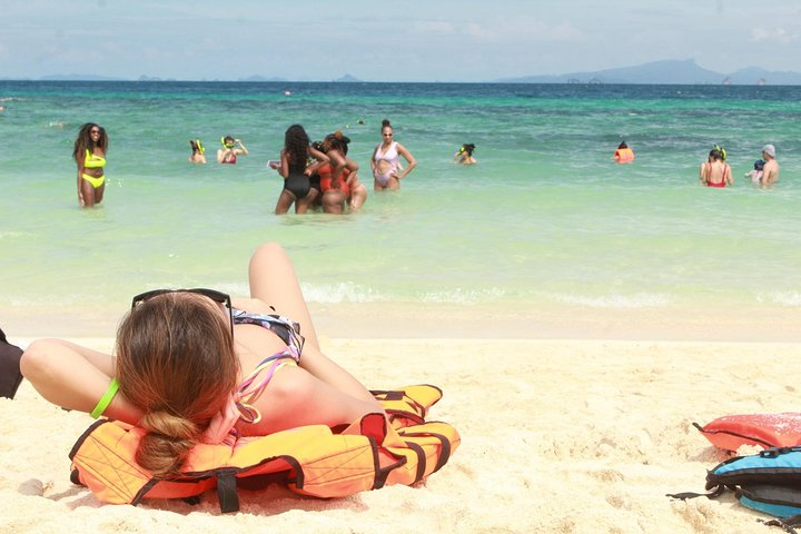 From Khao Lak : Phi Phi Snorkeling Day Trip by Speedboat Including Buffet Lunch, Khao Lak, TAILANDIA