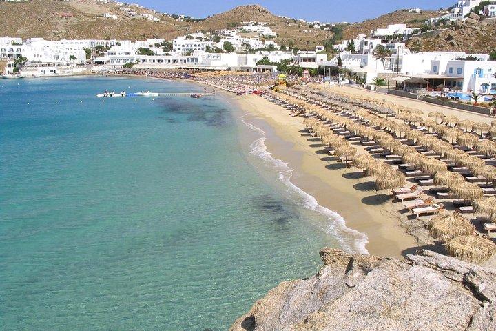 Explore the beautifull beaches of mykonos in a Private Tour, Miconos, GRECIA
