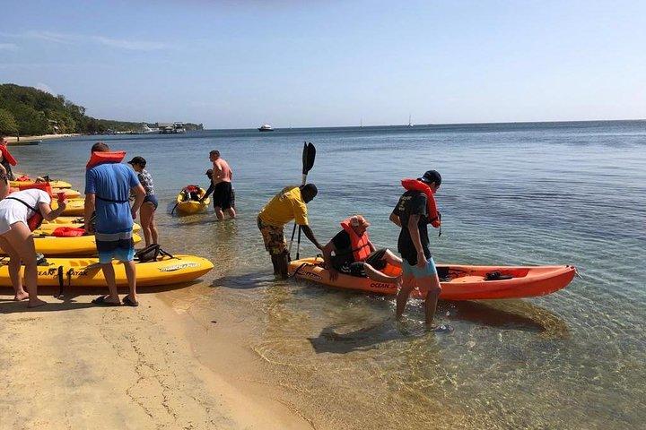 Kayak and Snorkeling Adventures in West End, Roatan, HONDURAS