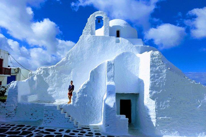 Private Airport Transfer: from Mykonos to Mykonos Airport (JMK), Miconos, GRECIA