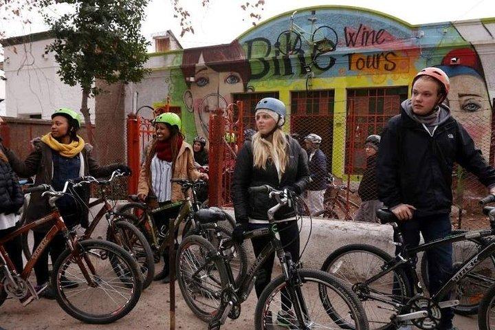 Bike wine tour. Visit 2 of the best wineries, Mendoza, ARGENTINA